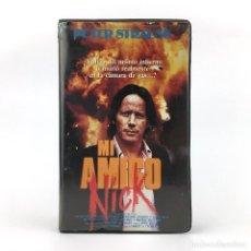 Cine: MI AMIGO NICK / MI JEFE, MI DIABLO / JOHN BERRY 1980. PETER STRAUSS BARBARA HERSHEY HARRY SEGALL VHS. Lote 237801525