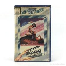 Cine: HERCULES CONTRA SANSON PIETRO FRANCISCI 1963 AVENTURAS FANTASTICO MITOLOGIA HEROE MACISTE ULISES VHS. Lote 237803010