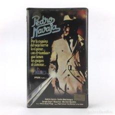 Cine: PEDRO NAVAJA ALFONSO ROSAS PRIEGO JR. 1984 ANDRES GARCIA SASHA MONTENEGRO MARIBEL GUARDIA DRAMA VHS. Lote 237803815