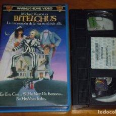 Cine: BITELCHUS - TIM BURTON, MICHAEL KEATON, WINONA RYDER, GEENA DAVIS - 1ª EDICION VIDEOCLUB - VHS. Lote 238362175
