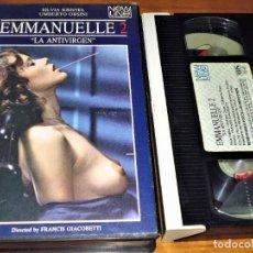 Cine: EMMANUELLE 2 . LA ANTIVIRGEN - SILVIA KRISTEL - VHS. Lote 238364490