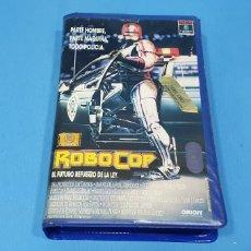 Cine: PELÍCULA VHS - ROBOCOP - EL FUTURO REFUERZO DE LA LEY - RCA. Lote 239363605