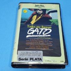 Cine: PELÍCULA BETA - TODOS ME LLAMAN GATO - RAÚL PEÑA 1983. Lote 239367920