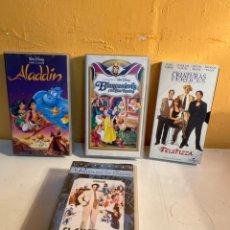 Cine: LOTE PELÍCULAS VHS. Lote 239458355