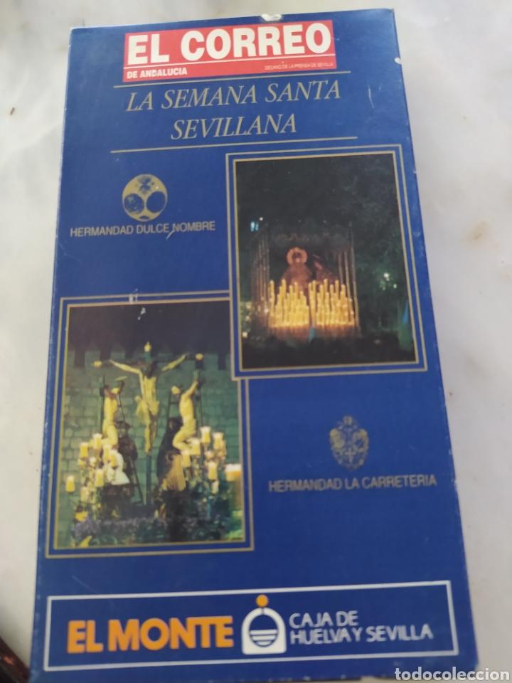 Cine: Lote 13 cintas vhs semana santa sevillana - Foto 6 - 240030215
