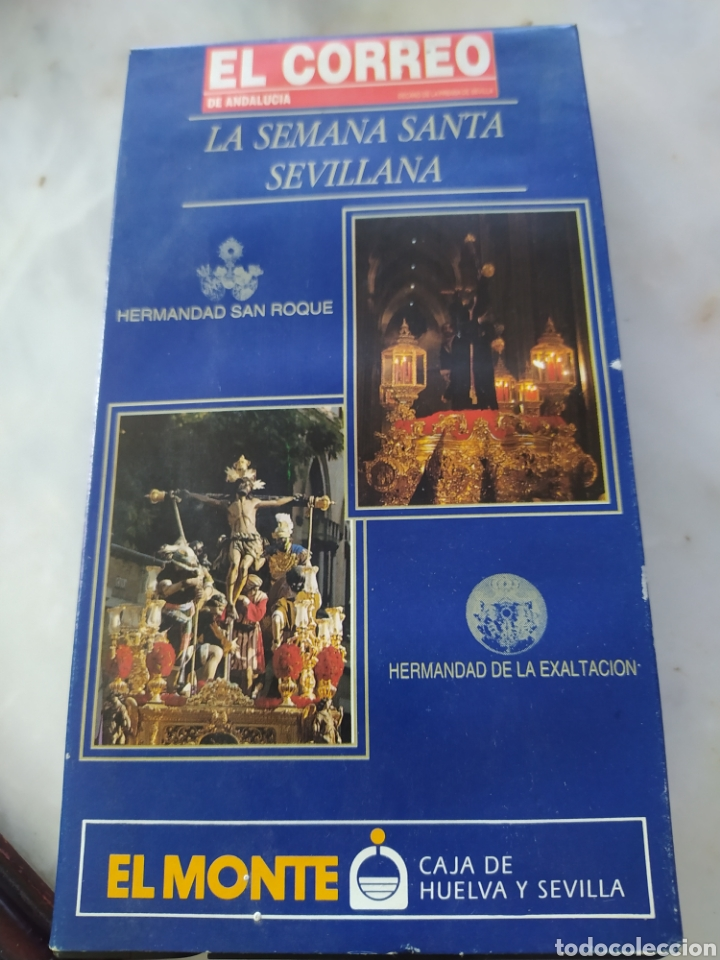 Cine: Lote 13 cintas vhs semana santa sevillana - Foto 9 - 240030215
