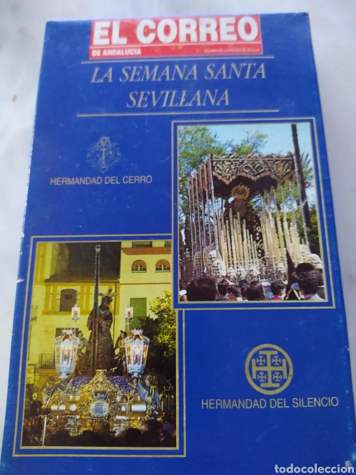Cine: Lote 13 cintas vhs semana santa sevillana - Foto 12 - 240030215