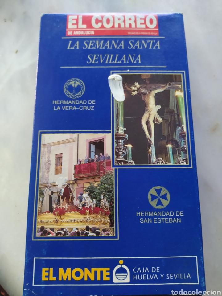 Cine: Lote 13 cintas vhs semana santa sevillana - Foto 15 - 240030215