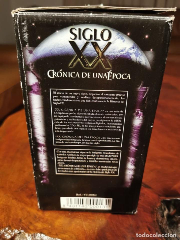 Cine: CRONICA DE UNA EPOCA SIGLO XX CAJA COMPLETA CON 13 VIDEOS VHS - COMO NUEVO - Foto 5 - 240969465