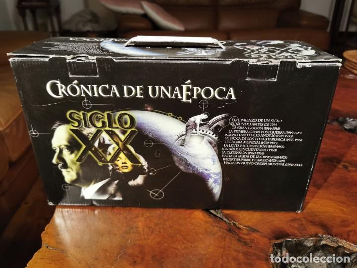 Cine: CRONICA DE UNA EPOCA SIGLO XX CAJA COMPLETA CON 13 VIDEOS VHS - COMO NUEVO - Foto 6 - 240969465