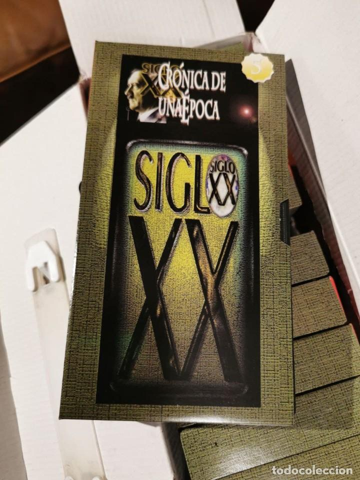 Cine: CRONICA DE UNA EPOCA SIGLO XX CAJA COMPLETA CON 13 VIDEOS VHS - COMO NUEVO - Foto 9 - 240969465