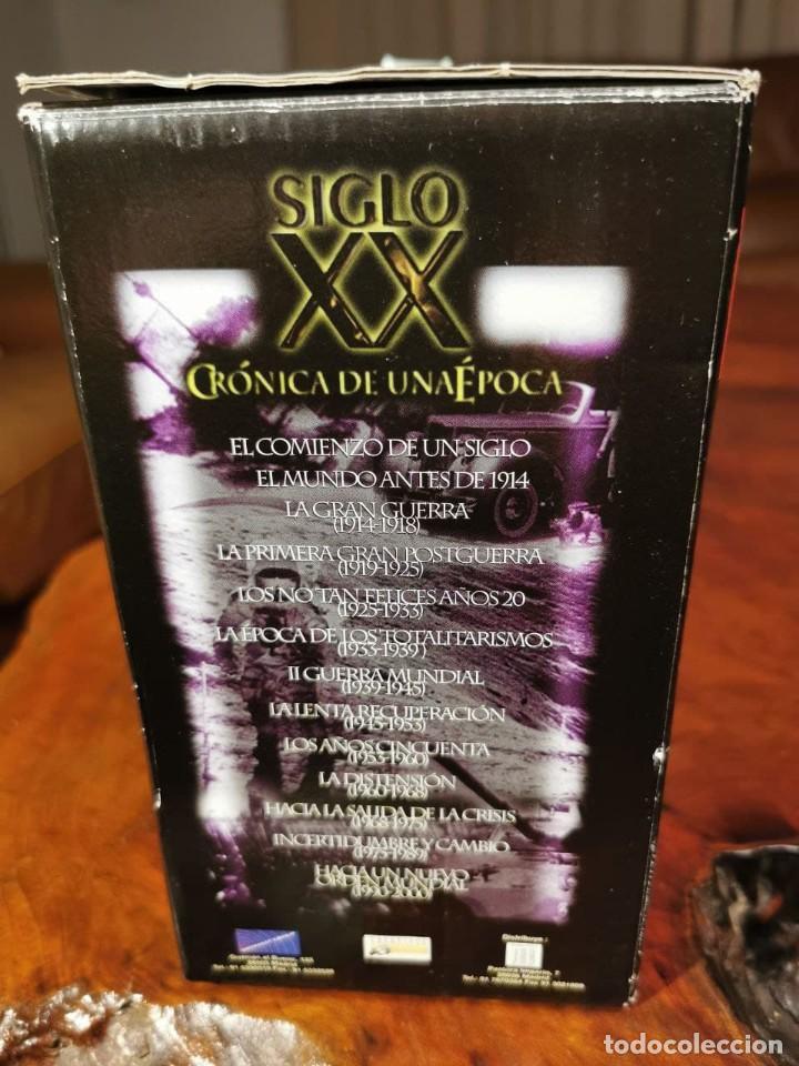 Cine: CRONICA DE UNA EPOCA SIGLO XX CAJA COMPLETA CON 13 VIDEOS VHS - COMO NUEVO - Foto 10 - 240969465