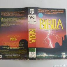 Cine: CARATULA VHS - LA BIBLIA - PETER O'TOLLE 1966. Lote 241312545