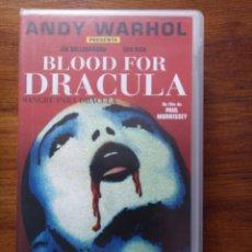 Cine: BLOOD FOR DRÁCULA, (SANGRE PARA DRÁCULA) ANDY WARHOL. Lote 241663075