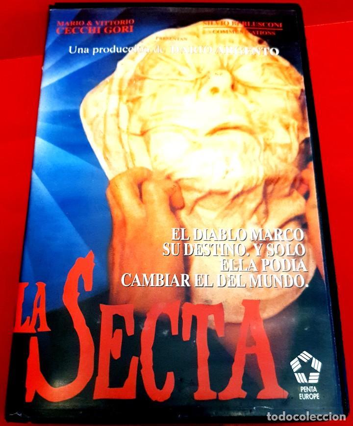 LA SECTA (1991) - DARIO ARGENTO, TERROR, SECTAS (Cine - Películas - VHS)