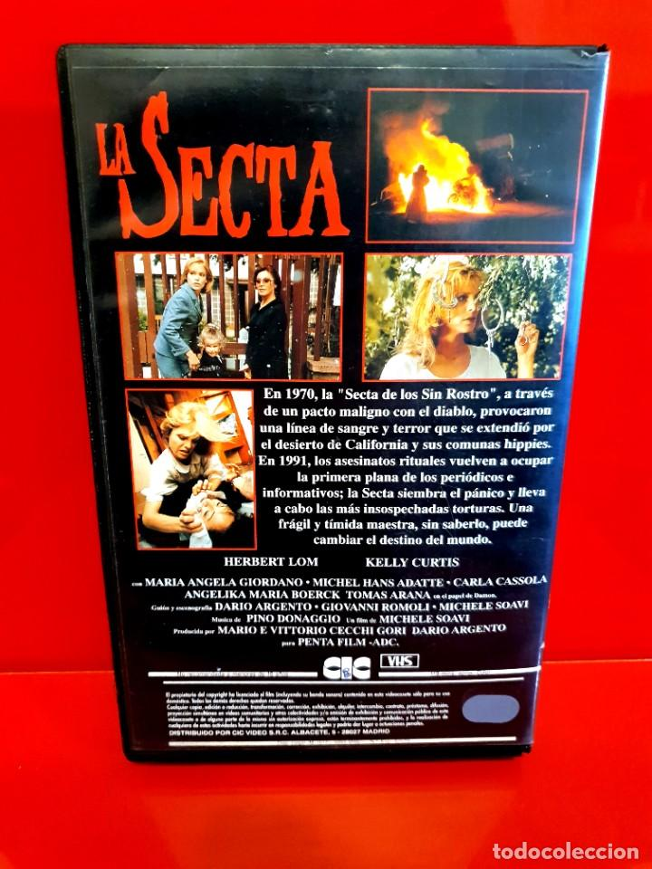 Cine: LA SECTA (1991) - DARIO ARGENTO, Terror, Sectas - Foto 3 - 241826235