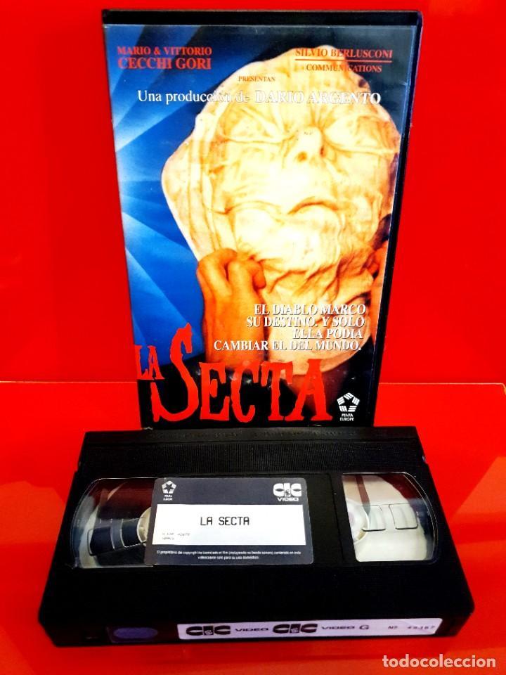 Cine: LA SECTA (1991) - DARIO ARGENTO, Terror, Sectas - Foto 4 - 241826235