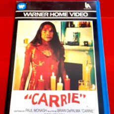 Cine: CARRIE (1976) - SISSY SPACEK, AMY IRVING - ADAPTACIÓN DE STEPHEN KING - 1ª EDIC WARNER. Lote 242418460