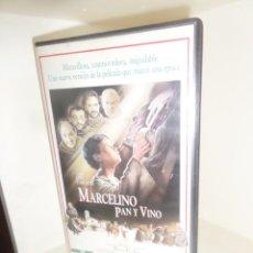 Cine: MARCELINO PAN Y VINO - FERNANDO FERNAN GOMEZ - VHS - DISPONGO DE MAS VHS. Lote 242472685