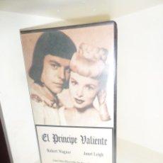 Cine: EL PRINCIPE VALIENTE - ROBERT WAGNER / JANET LEIGH - VHS - DISPONGO DE MAS VHS. Lote 242474215