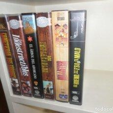 Cine: LOTE 5 VHS WESTERN - BUENO FEO MALO / COMETIERON 2 ERRORES / INDESTRUCTIBLES / DISPONGO DE MAS VHS. Lote 242477865