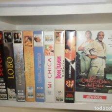 Cine: LOTE 10 VHS - SEVEN / LOBO / MI CHICA / PHILADELPHIA / DON JUAN / ETC ..... - DISPONGO DE MAS VHS. Lote 242481445