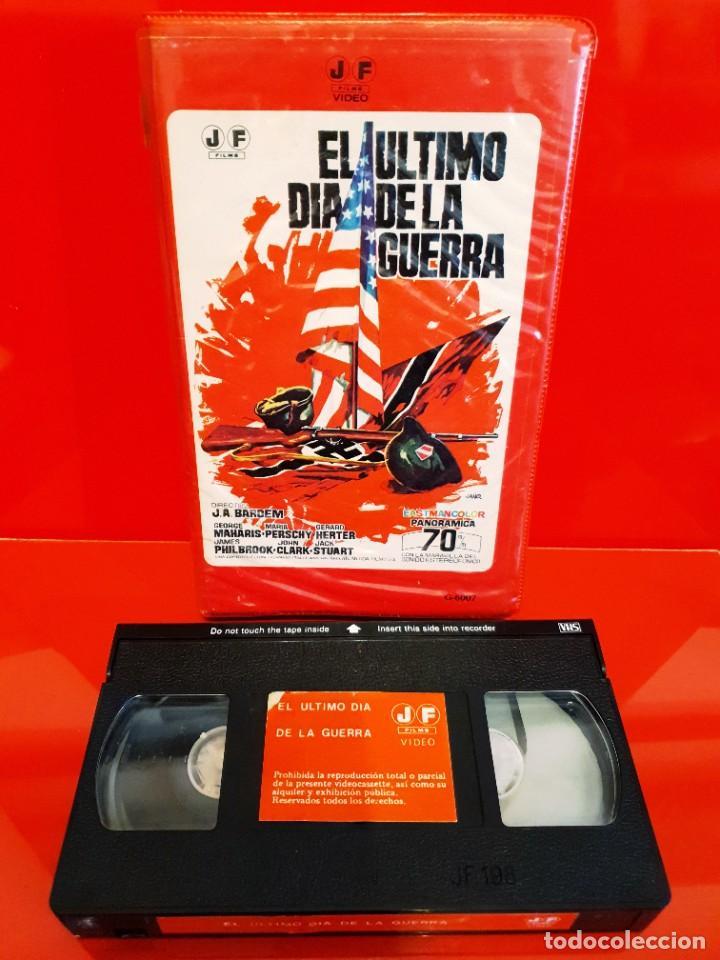Cine: EL ULTIMO DIA DE LA GUERRA (1970) - Juan Antonio Bardem, George Maharis - NO EDITADA EN DVD - Foto 3 - 243092770