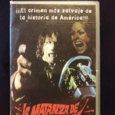 Cine: LA MATANZA DE TEXAS. Lote 243312425