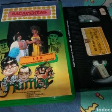 Cine: HUMOR ANDALUZ- DUO SACAPUNTAS- VHS. Lote 297173843