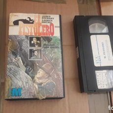 Cine: EL PISTOLERO VHS WESTERN JAMES STEWART. Lote 243648085