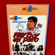 Cine: PLAYBOY EN PARO (1984) - ANDRÉS PAJARES, JOSÉ LUÍS LÓPEZ VÁZQUEZ - J. FRADE. Lote 243860100