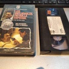 Cine: LOS IMPLACABLES PATRULLA ESPECIAL - ROY SCHEIDER, TONY LO BIANCO, PHILIP D'ANTONI -VHS. Lote 243926655