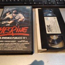 Cine: VHS . MESRINE - 1984 - NICOLAS SILBERG, CAROLINE AGUILAR - DIR. ANDRÉ GÉNOVÈS. Lote 243927400
