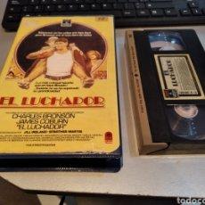 Cine: EL LUCHADOR - VHS- CHARLES BRONSON. Lote 243929300