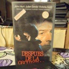 Cine: DESPUES DE LA OSCURIDAD - DOMINIQUE GERRARD - JOHN HURT , VICTORIA ABRIL - AVE 1988. Lote 243981330