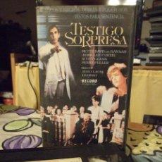 Cine: TESTIGO SORPRESA - JEAN CLAUDE TRAMONT - BETTE DAVIS , JAMIE LEE CURTIS - LORIMAR 1988. Lote 243981770