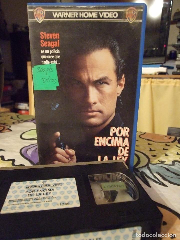 POR ENCIMA DE LA LEY - ANDREW DAVIS - STEVEN SEAGAL , PAM GRIER - WARNER 1988 (Cine - Películas - VHS)