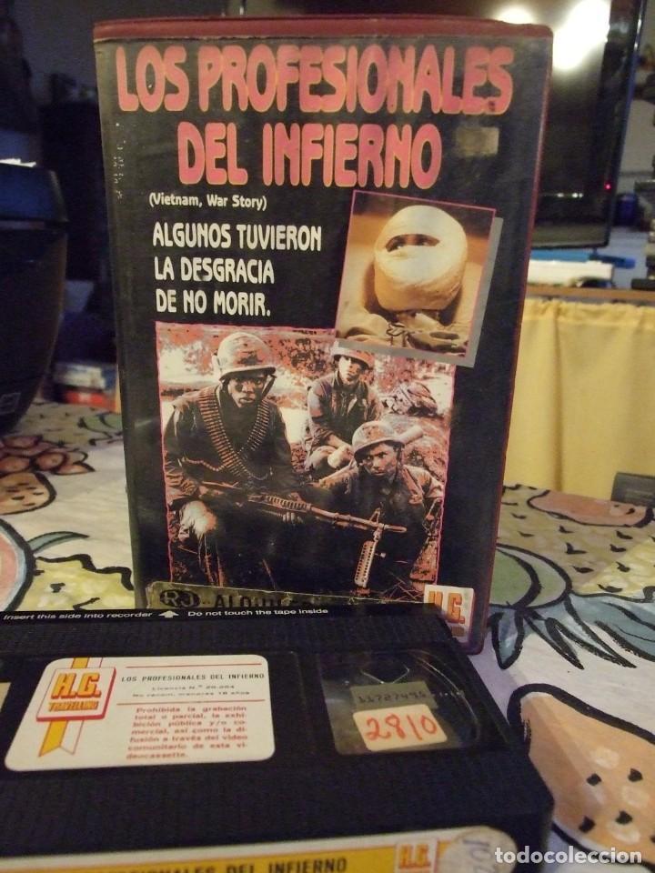 LOS PROFESIONALES DEL INFIERNO - GEORG STANFORD BROWN - TOM FRIEDLEY , DAVID HARRIS - HG 1988 (Cine - Películas - VHS)