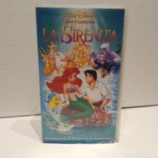 Cine: LA SIRENITA - WALT DISNEY. Lote 244019180