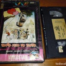 Cine: TONTO ... PERO NO TANTO - GARY BUSSEY, ANNETTE O´TOOLE, TONY RANDALL - VHS. Lote 244451510
