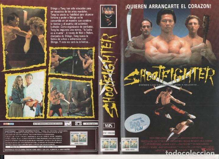 VHS - SHOOTFIGHTER - BOLO YEUNG - ARTES MARCIALES (Cine - Películas - VHS)