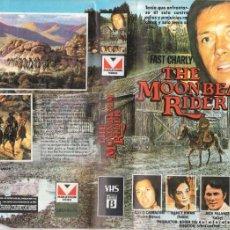 Cine: VHS - THE MOONBEAM RIDER / FAST CHARLY - DAVID CARRADINE, JACK PALANCE, NANCY KWAN. Lote 244522770