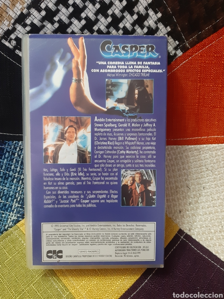 Cine: VHS Casper, ver es creer - Foto 2 - 244523350