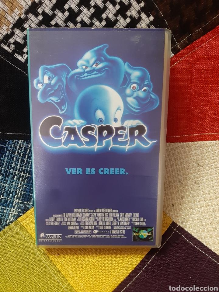 VHS CASPER, VER ES CREER (Cine - Películas - VHS)
