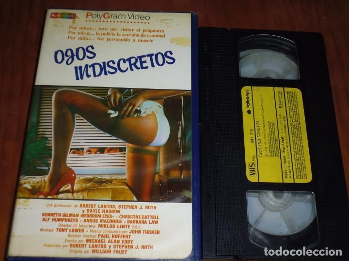 OJOS INDISCRETOS - KENNETH GILMAN, CHRISTINE CATTELL - SUSPENSE - 1ª EDICION POLYGRAM - VHS (Cine - Películas - VHS)
