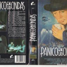 Cine: VHS - PANICO EN LAS ONDAS - ALEXIS KANNER - DESCATALOGADA Y UNICA. Lote 244523595