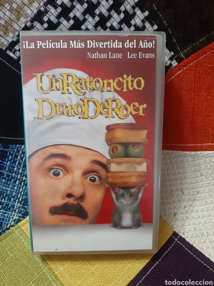 VHS UN RATONCITO DURO DE ROER (Cine - Películas - VHS)