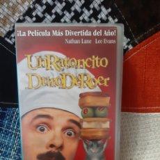 Cine: VHS UN RATONCITO DURO DE ROER. Lote 244523910