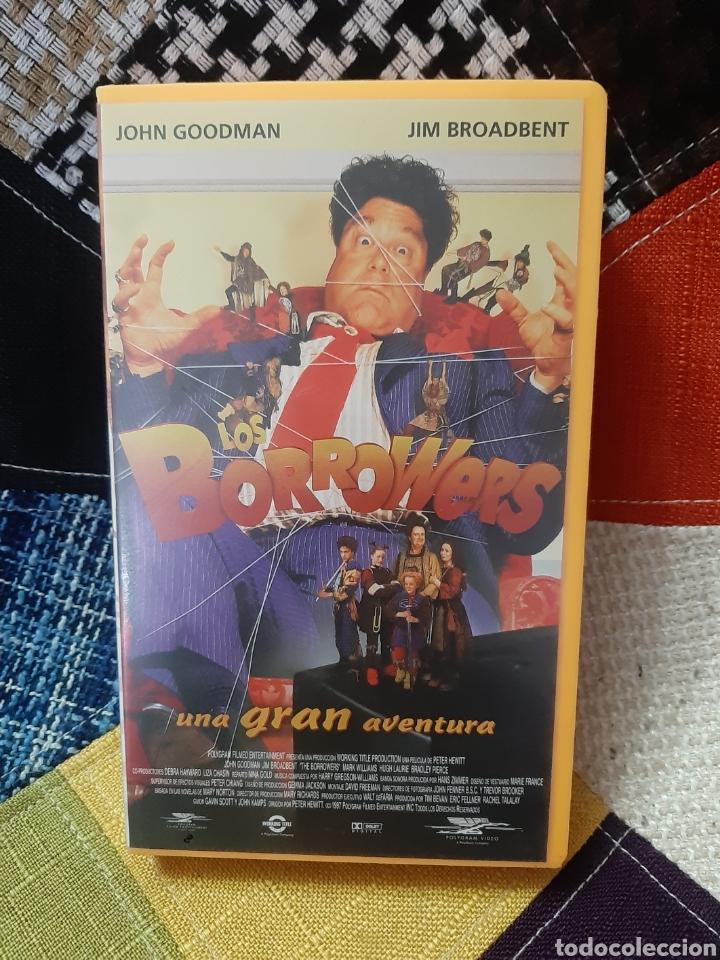 VHS LOS BORROWERS, UNA GRAN AVENTURA (Cine - Películas - VHS)