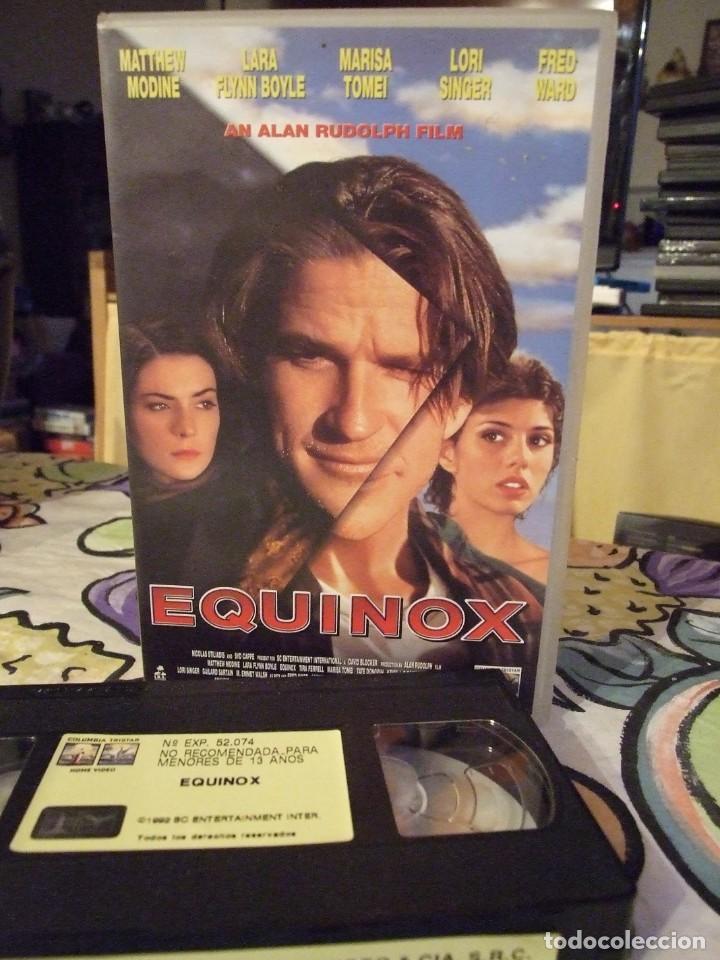EQUINOX - ALAN RUDOLPH - MATTHEW MODINE , LARA FLYNN BOYLE - COLUMBIA 1996 (Cine - Películas - VHS)